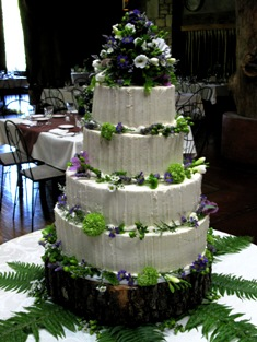 Rustic Themed Wedding Cakes