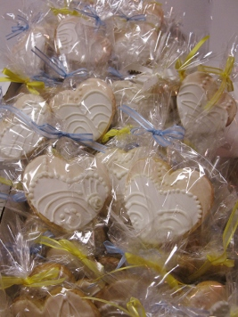 Bridal Shower  Heart Cookie Favors 001